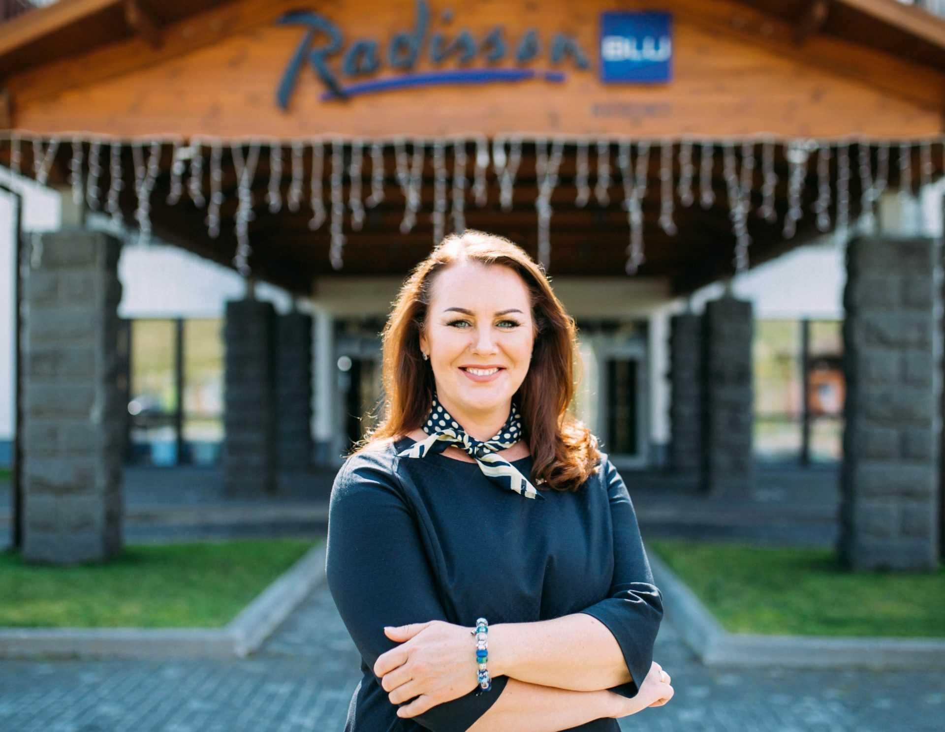 Генеральный менеджер Radisson Blu Resort, Буковель Вилья Радзвилавичене