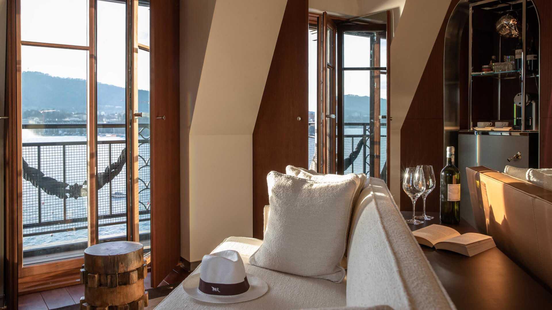Отель La Réserve Eden au Lac Zurich