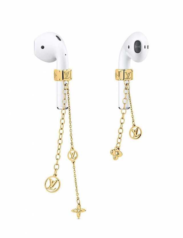 Louis Vuitton выпускают золотые серьги для AirPods