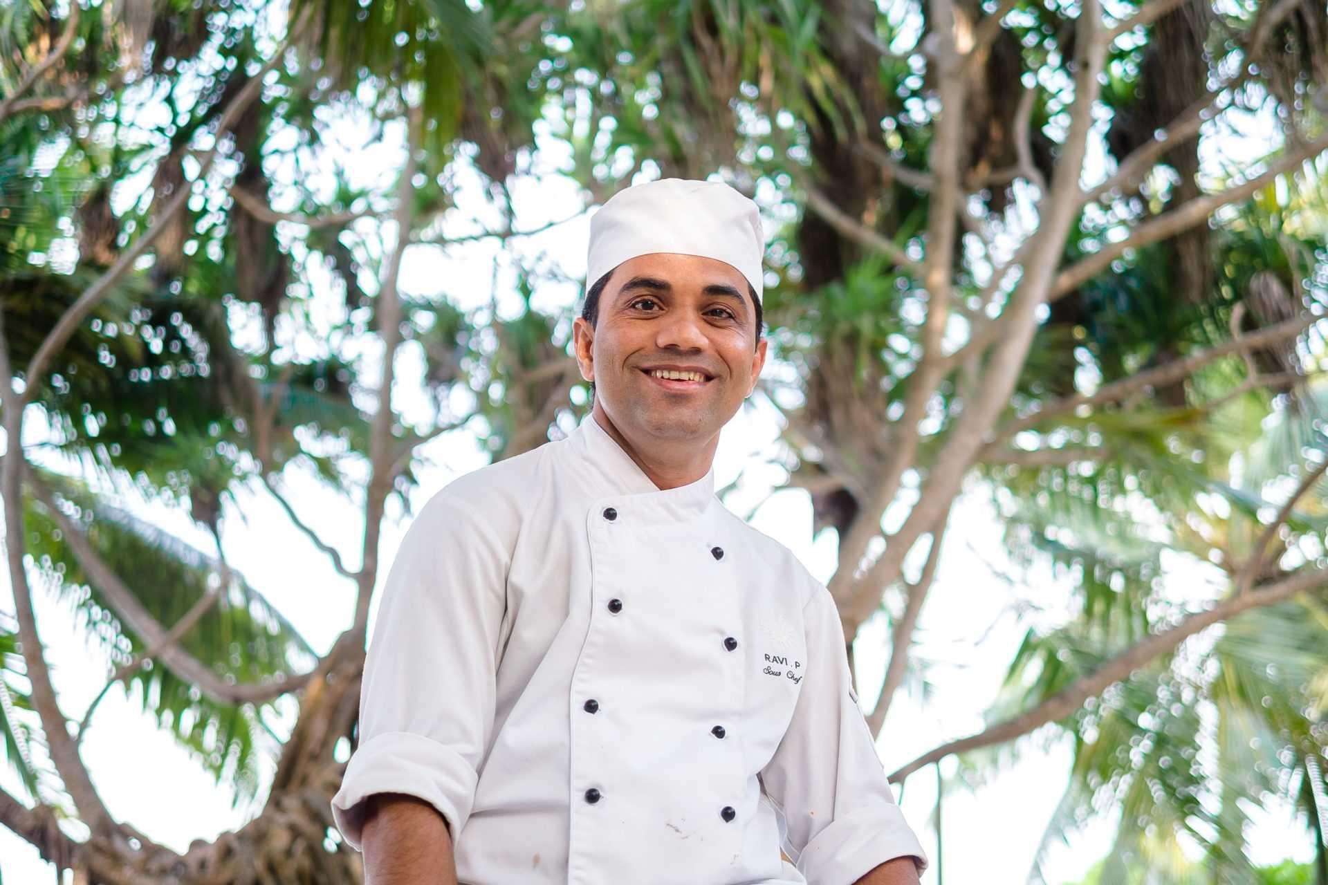 Шеф Рави Пуджари Мальдивы