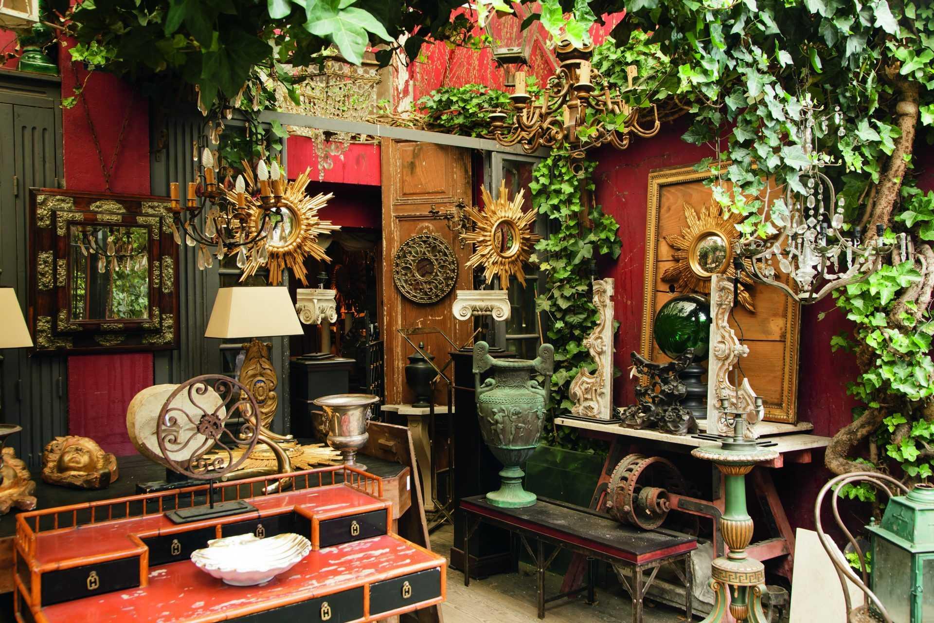 Рынок Сент-Уан - блошиный рынок в Париже