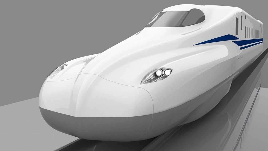В Японии запустили сверхскоростной пассажирский экспресс