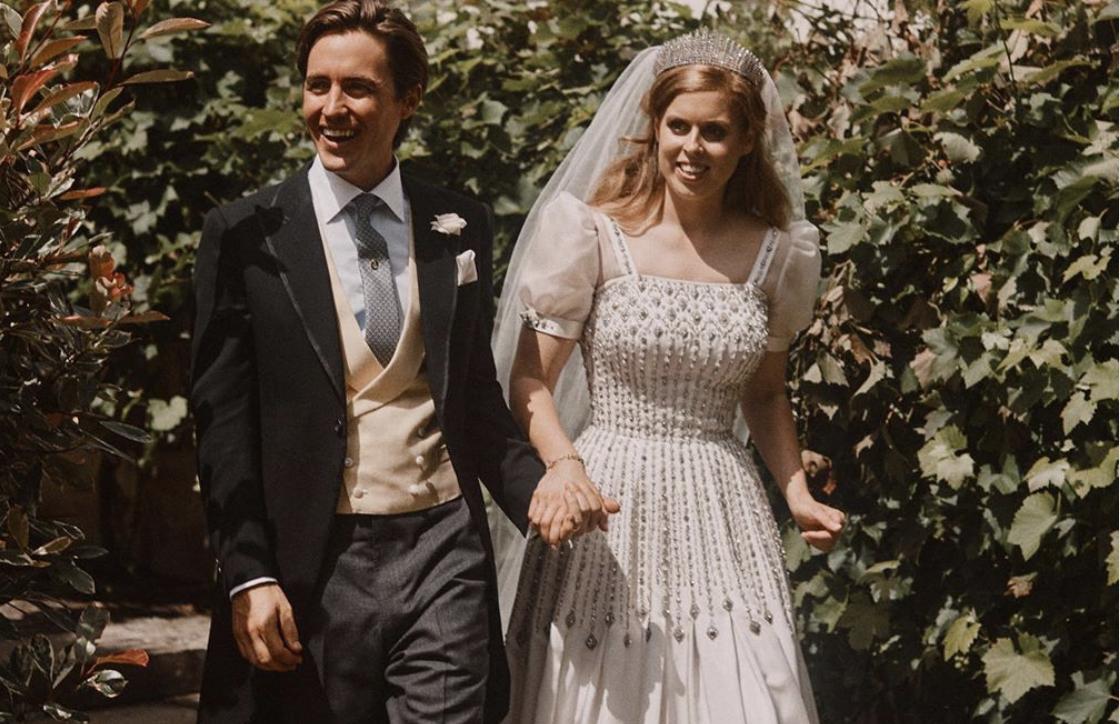 Принцесса Беатрис вышла замуж