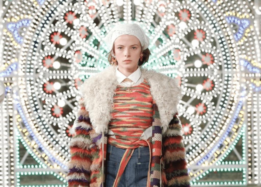 Christian Dior провели показ в итальянском городе Лечче