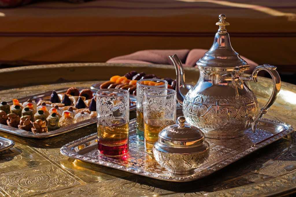 Рецепт марокканского чая от шеф-повара Royal Mansour Marrakech