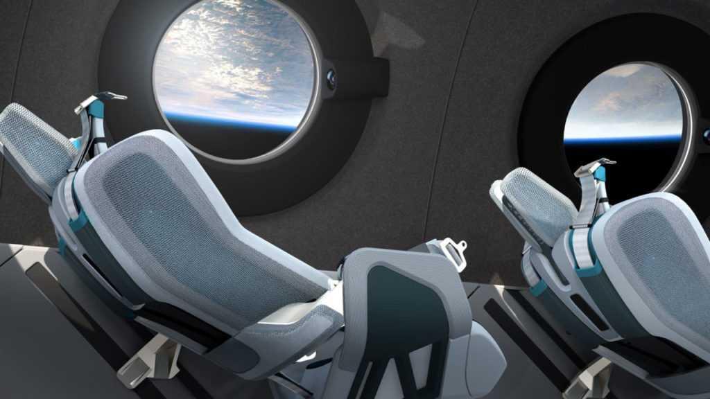 Космический корабль VSS Unity для путешествий