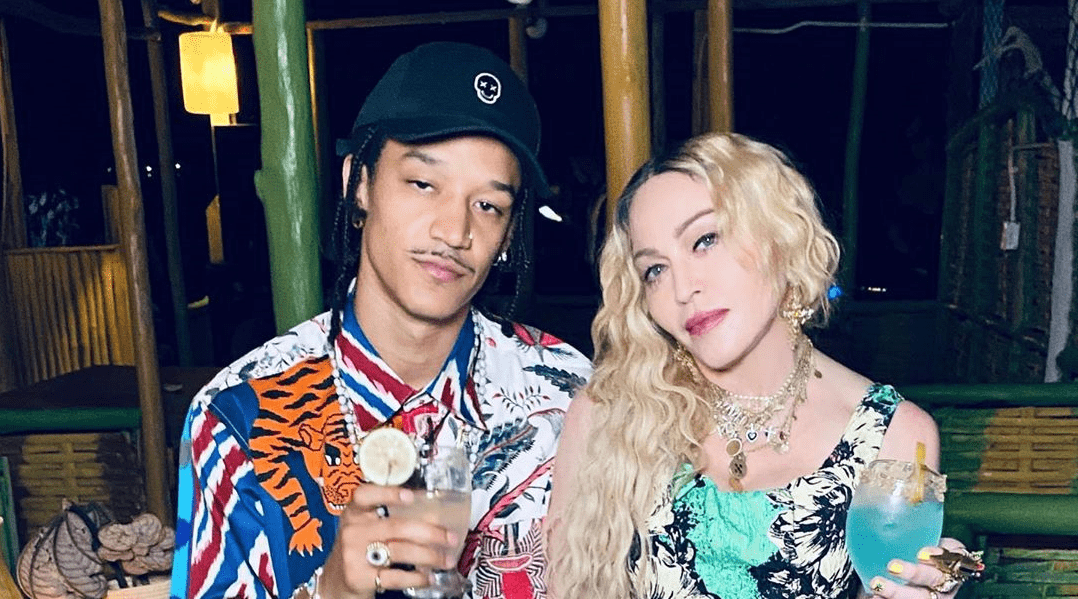 Мадонна устроила вечеринку на Ямайке