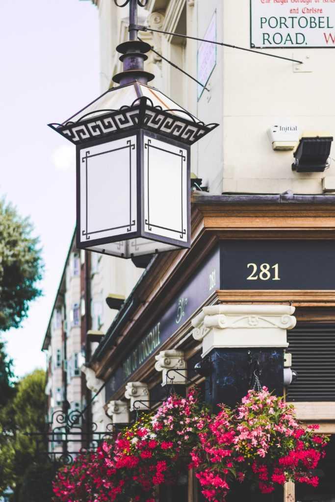 винтажный рынок Портобелло в Лондоне