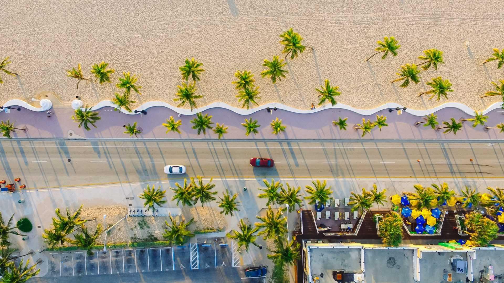 Майами набережная