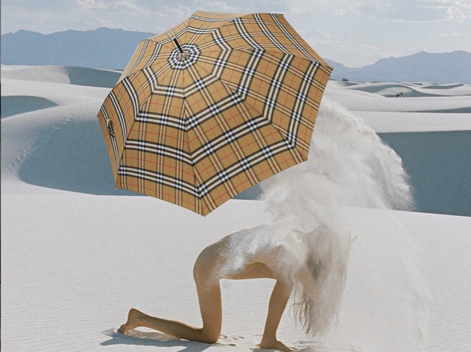 Украинские фотографы сделали съемку для Burberry