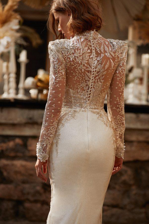 Узкие свадебные платья