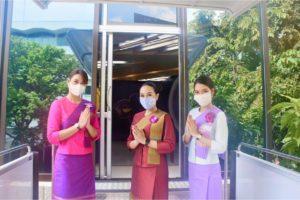 В Таиланде авиакомпания открыла ресторан с едой