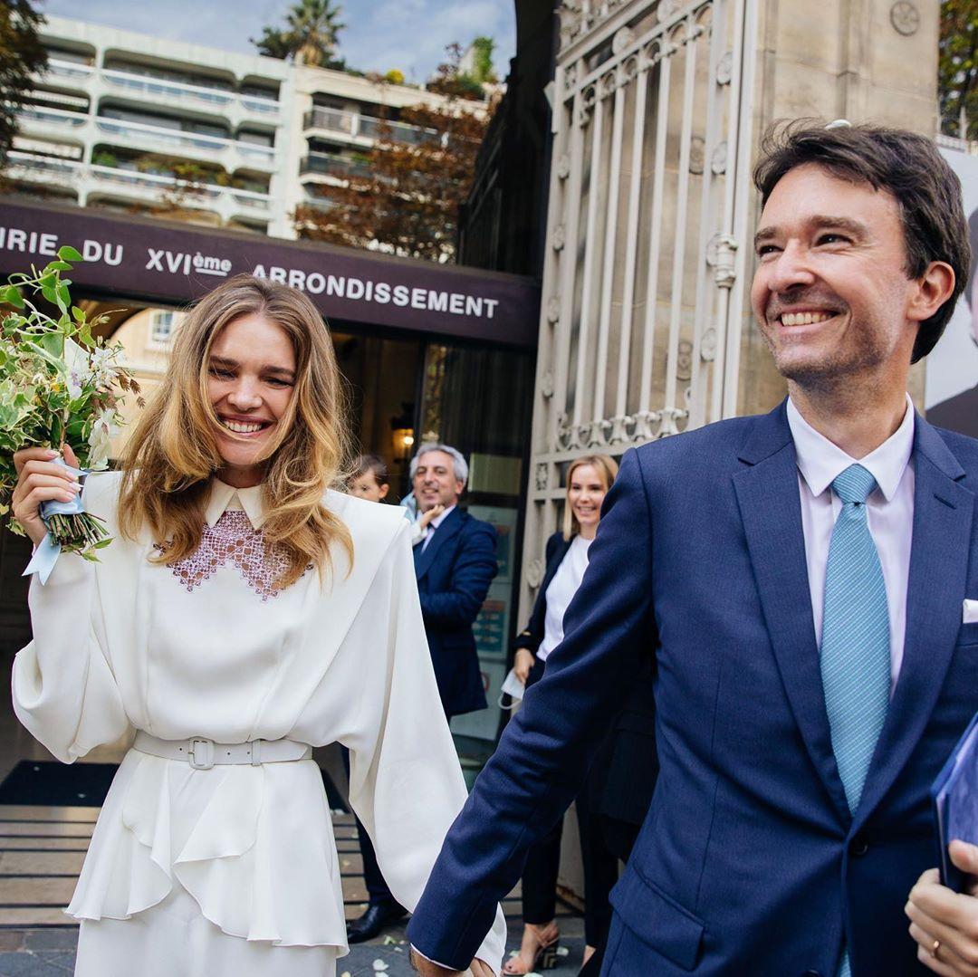 Наталья Водянова вышла замуж за французского миллиардера