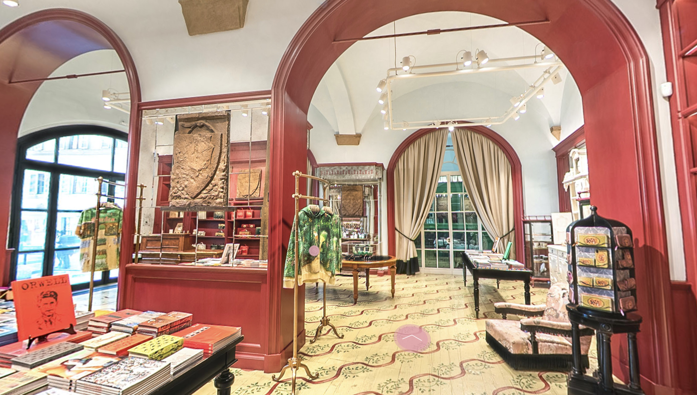 Пространство Gucci Garden расположено во дворце Фиорентине