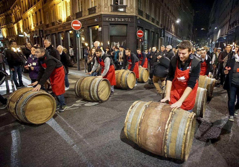 Праздник молодого вина Божоле-нуво во Франции