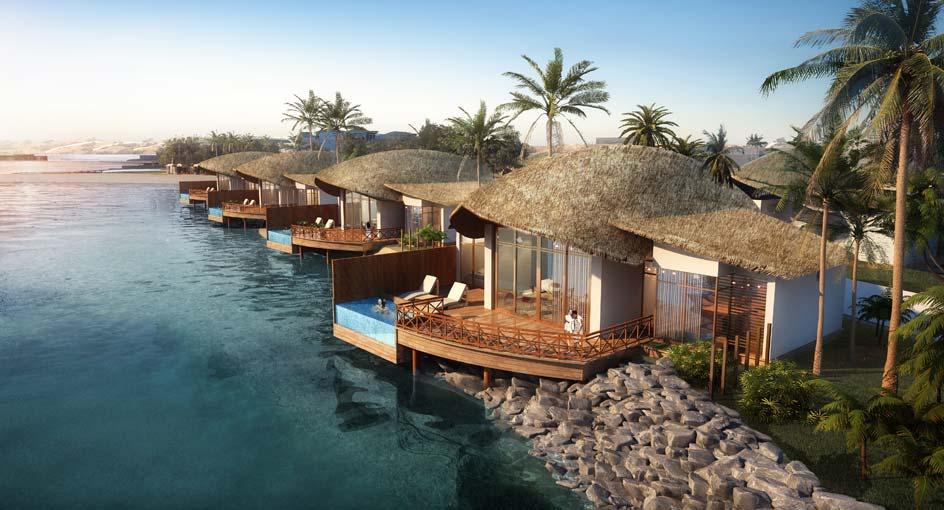 В ОАЭ откроют курорт в мальдивском стиле