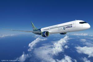 Airbus представили концепт экосамолетов