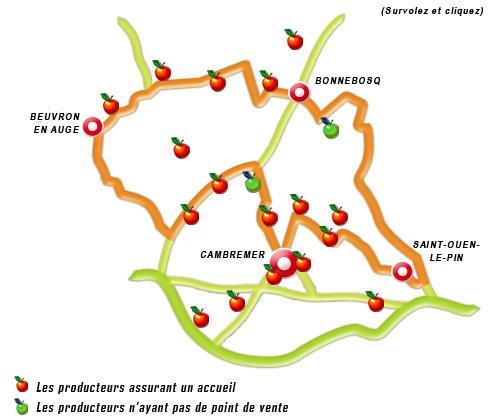 Яблочная Нормандия Дорога сидра