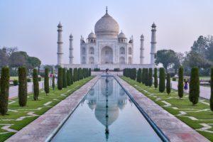 Тадж-Махал вновь открылся для путешественников
