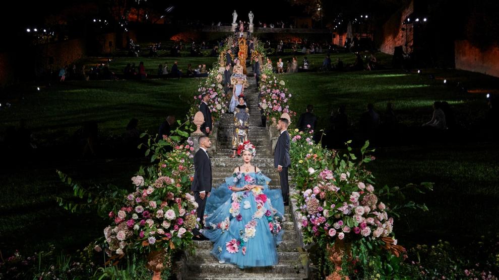 Во Флоренции прошло кутюрное шоу Dolce & Gabbana