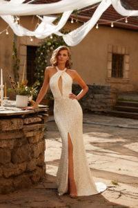 Минималистичное свадебное платье Milla Nova Kyiv
