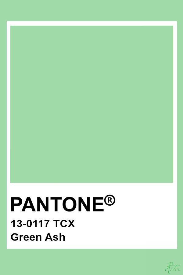 главные цвета 2021 Green Ash