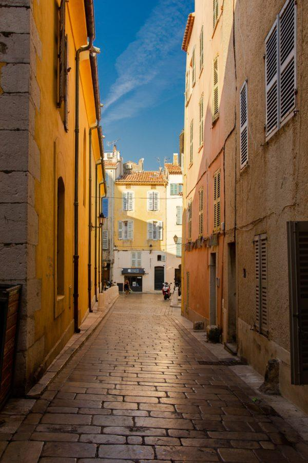 Сен-Тропе старый город