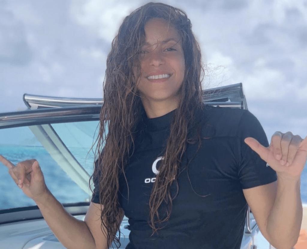 Шакира и Жерар Пике отдыхают на Мальдивах