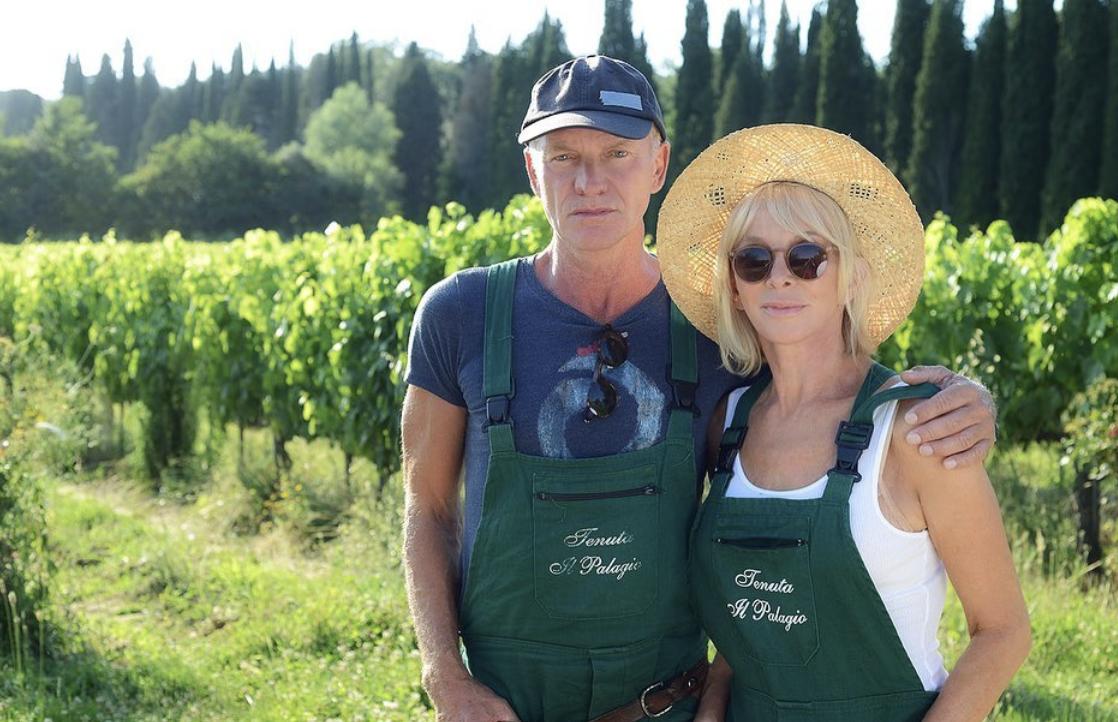 Итальянские хроники: отдых Стинга и Труди Стайлер на вилле Il Palagio