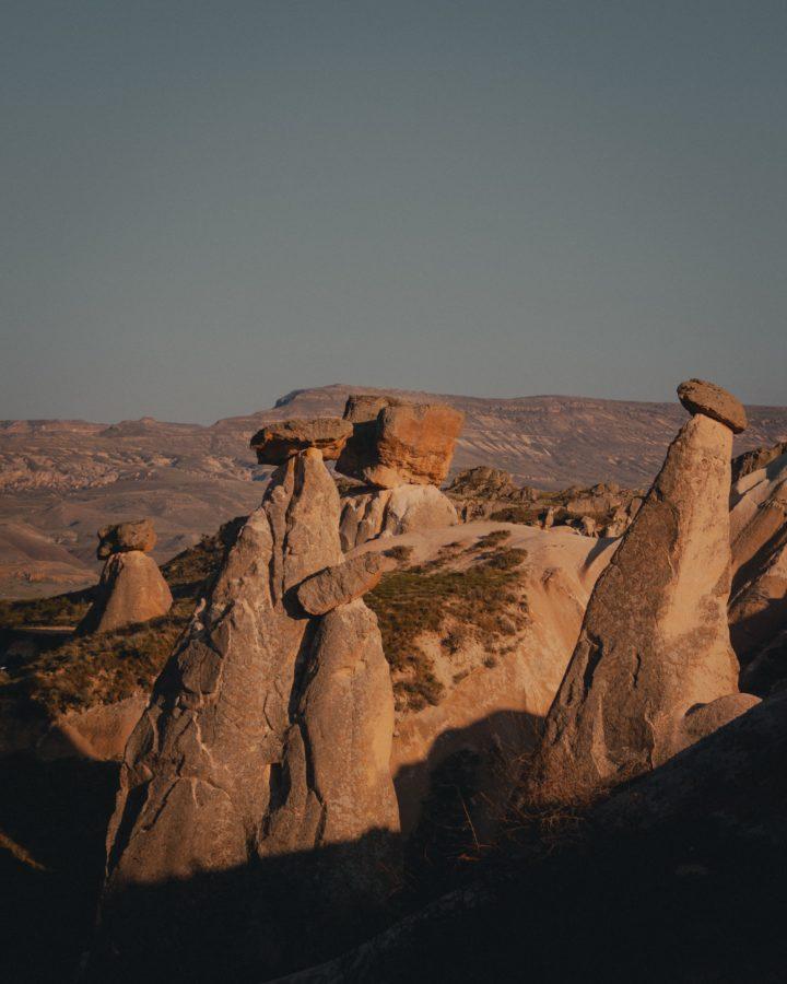 Каппадокия скалы