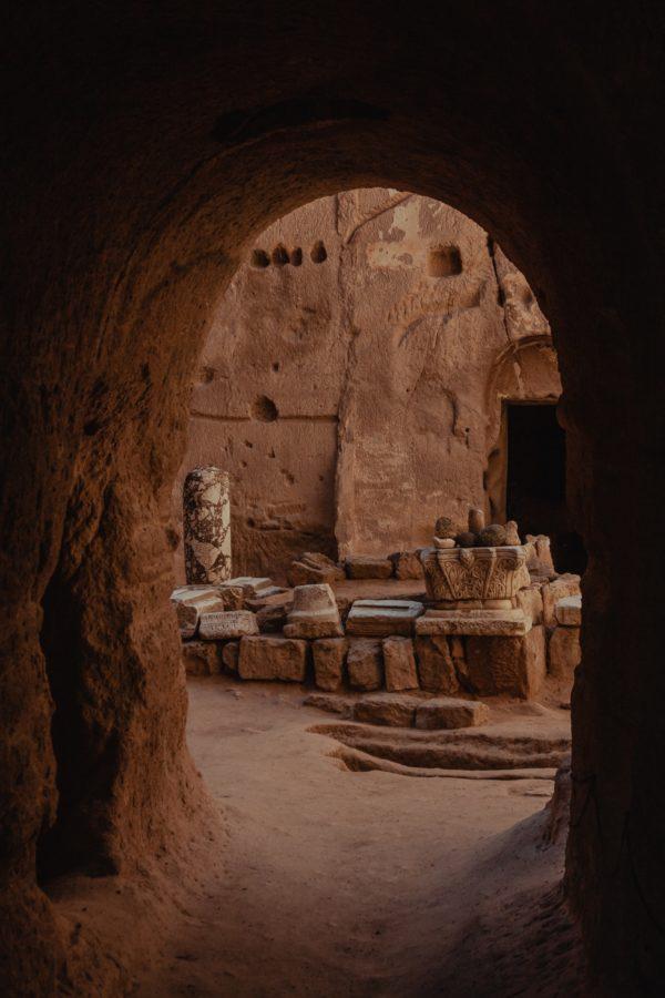 Каппадокия пещеры