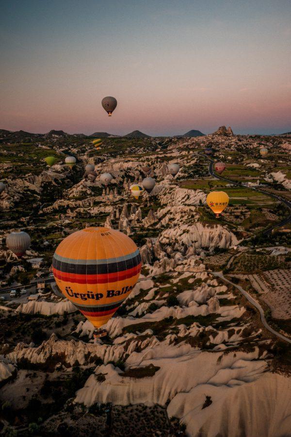 Каппадокии как полетать на воздушных шарах