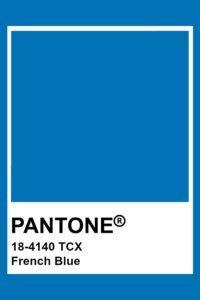 Глубоко синий (French Blue)