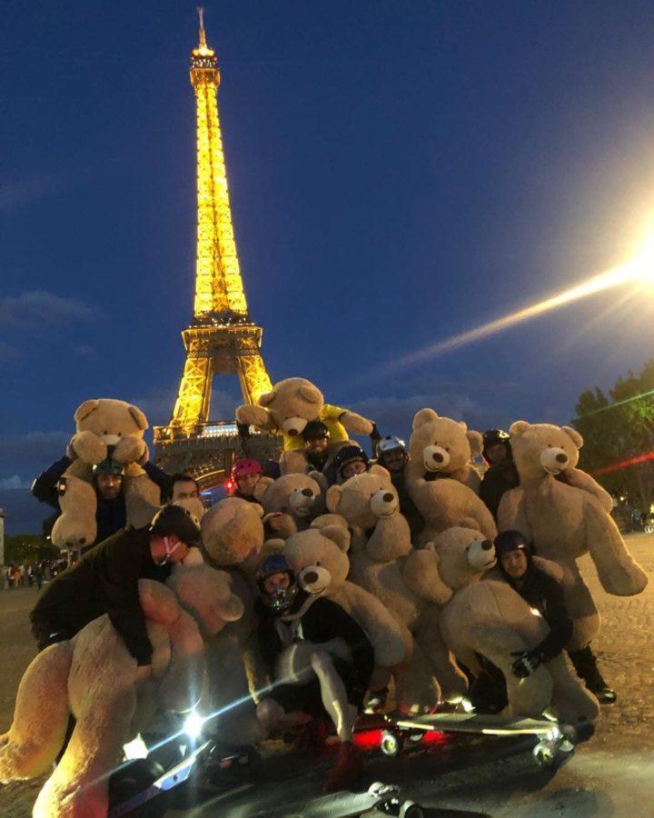 Париж и медведи