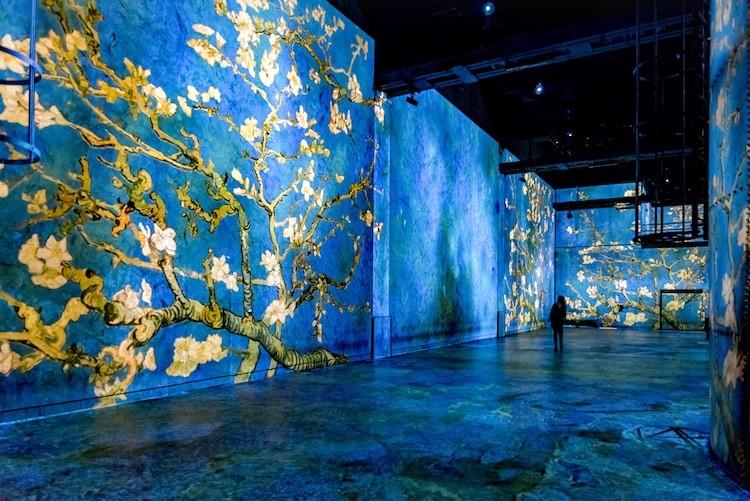 Эмили в Париже 10 мест: Цифровой музей Atelier Des Lumières