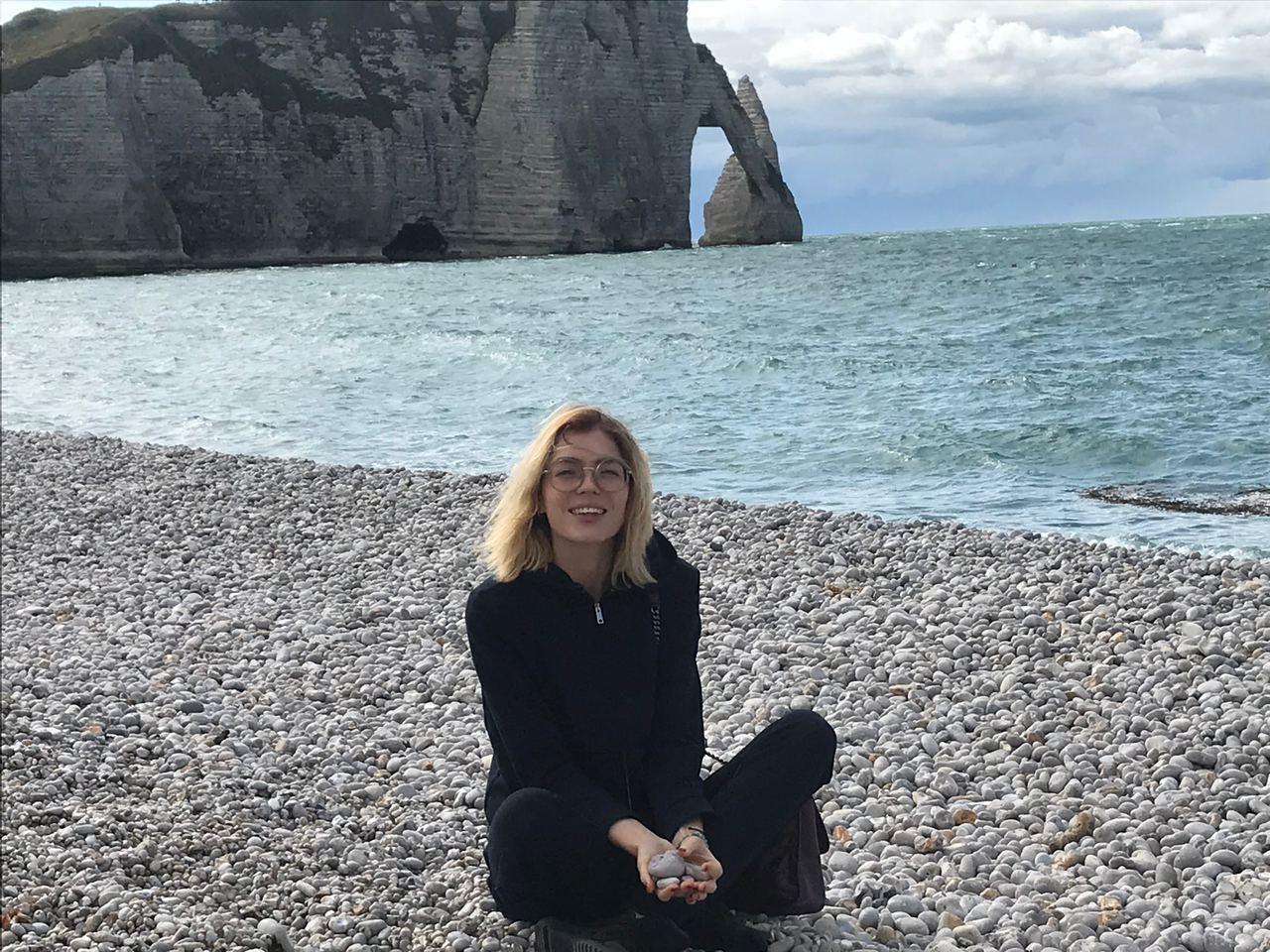 Нормандия Этрета Катя Любчик