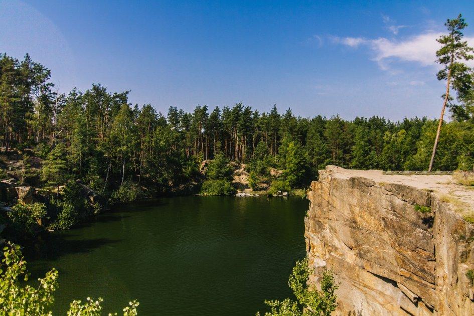 Места для медитаций в Украине Коростышевский карьер