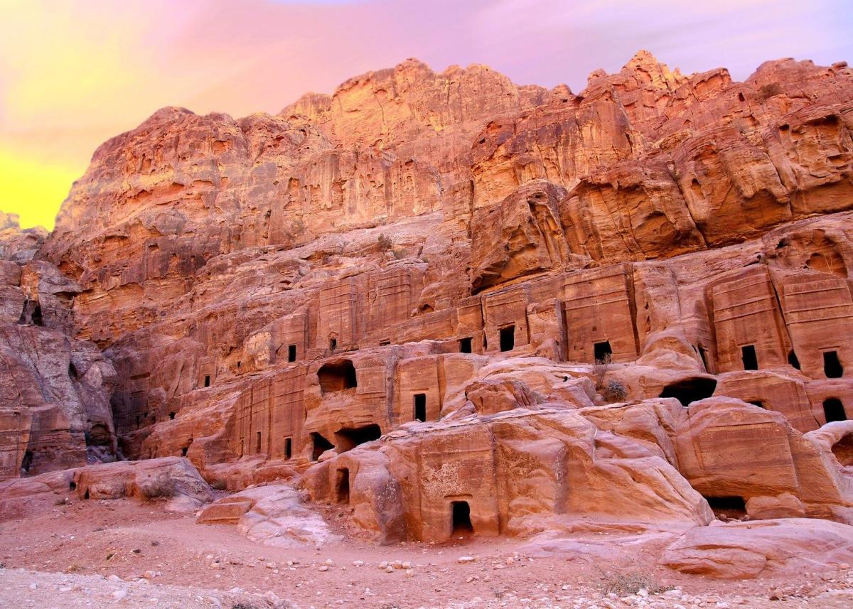«Затерянный город» Петра в Иордании