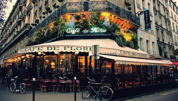 Эмили в Париже 10 мест Кафе Cafe de Flore