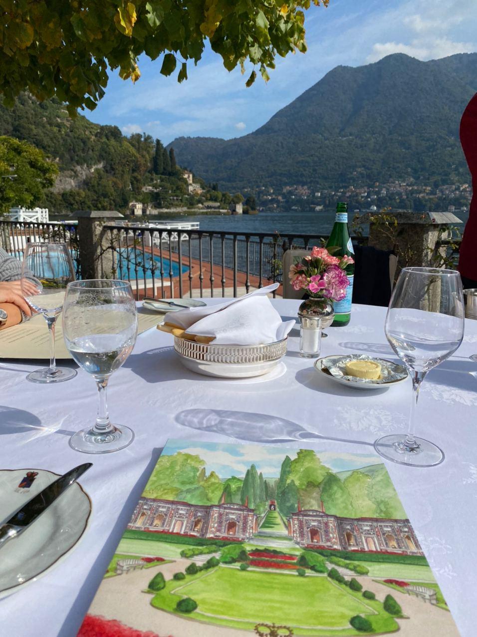 Ресторан при отеле Villa d'Este