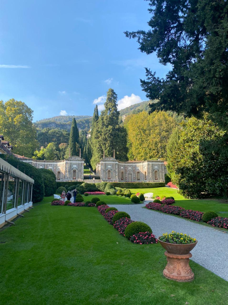 Виды возле отеля Villa d'Este