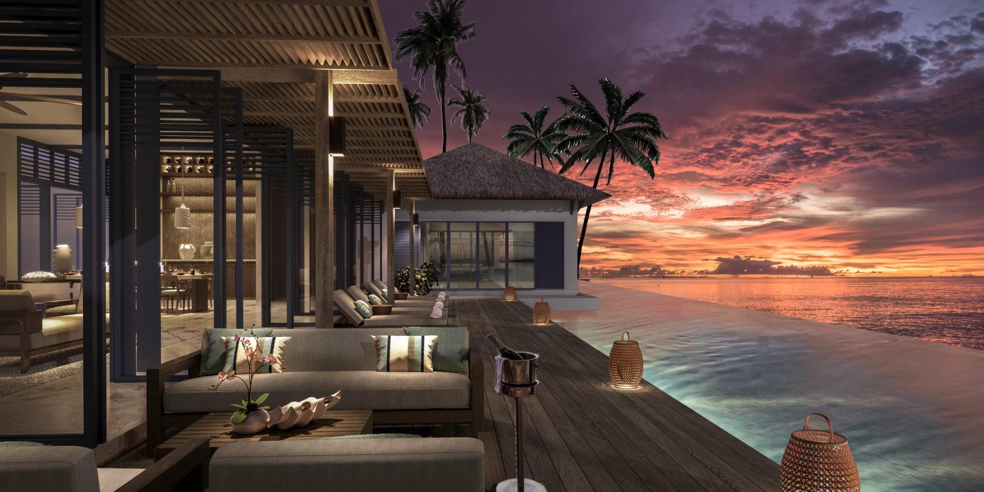 Мальдивский курорт Raffles Maldives Meradhoo