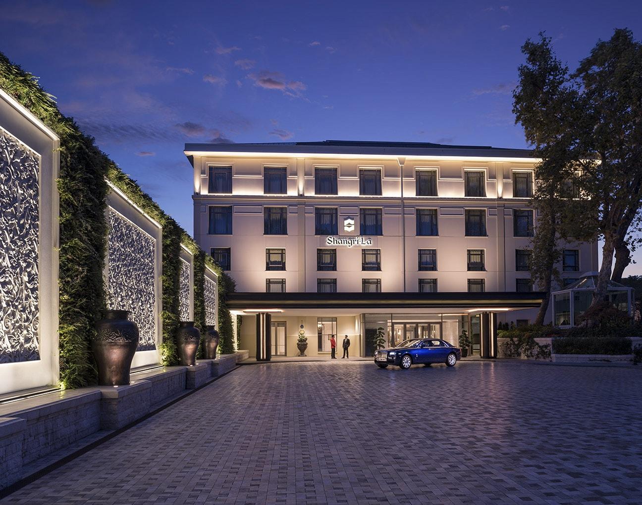 Отель в Стамбуле Shangri-La Bosphorus