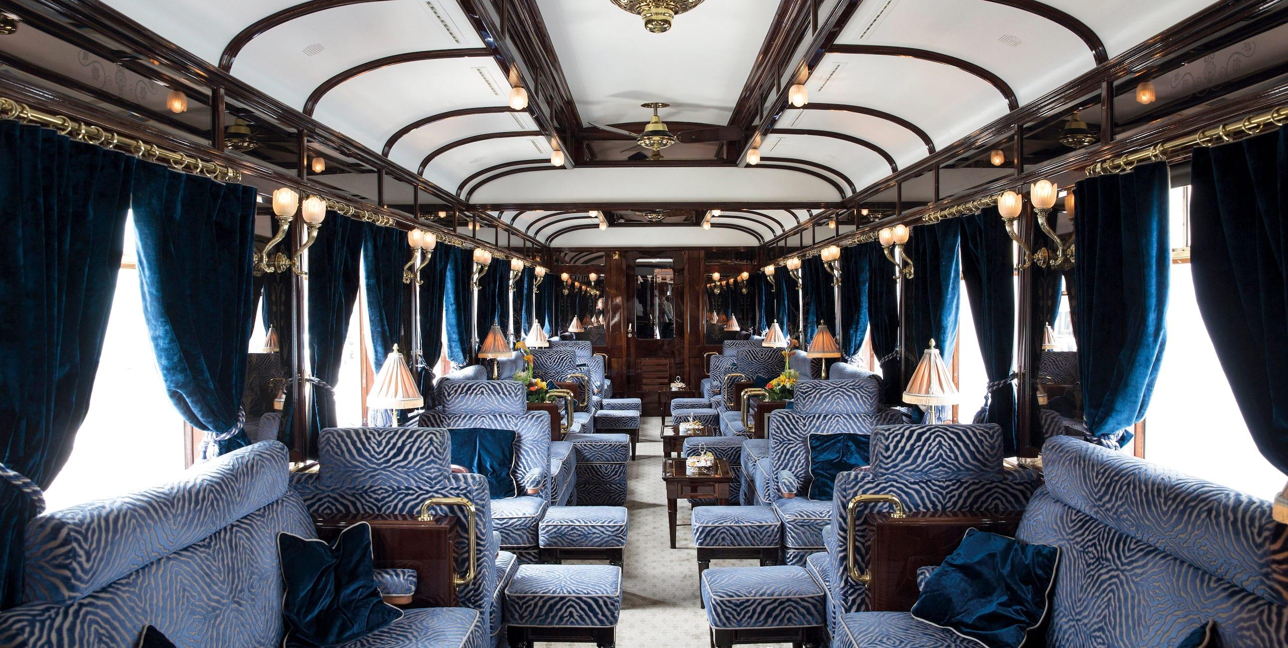 самые роскошные поезда мираThe Venice Simplon Orient-Express