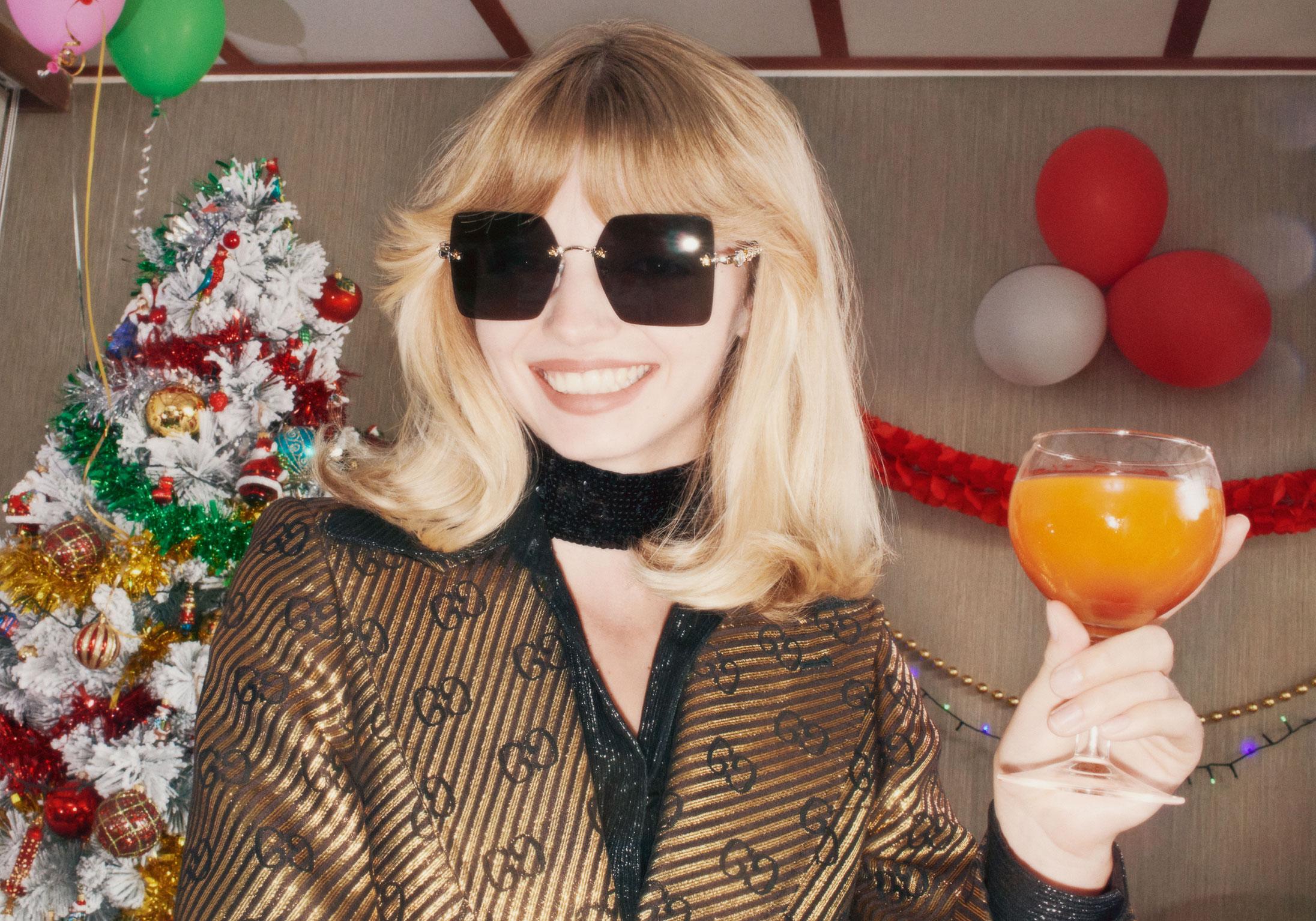 Gucci выпустили праздничную коллекцию