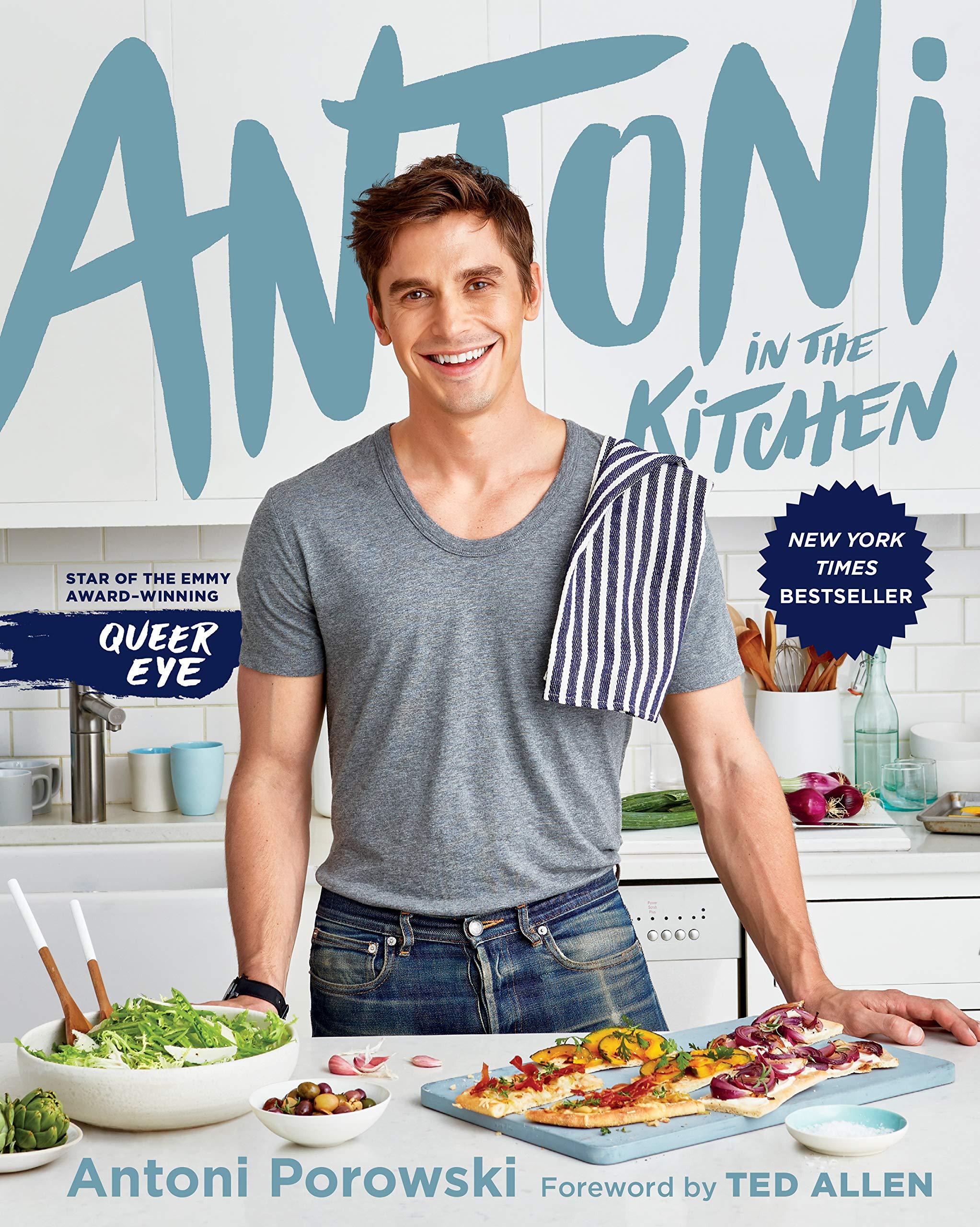 Энтони Поровски, «Antoni inthe Kitchen» 10 кулинарных книг знаменитостей