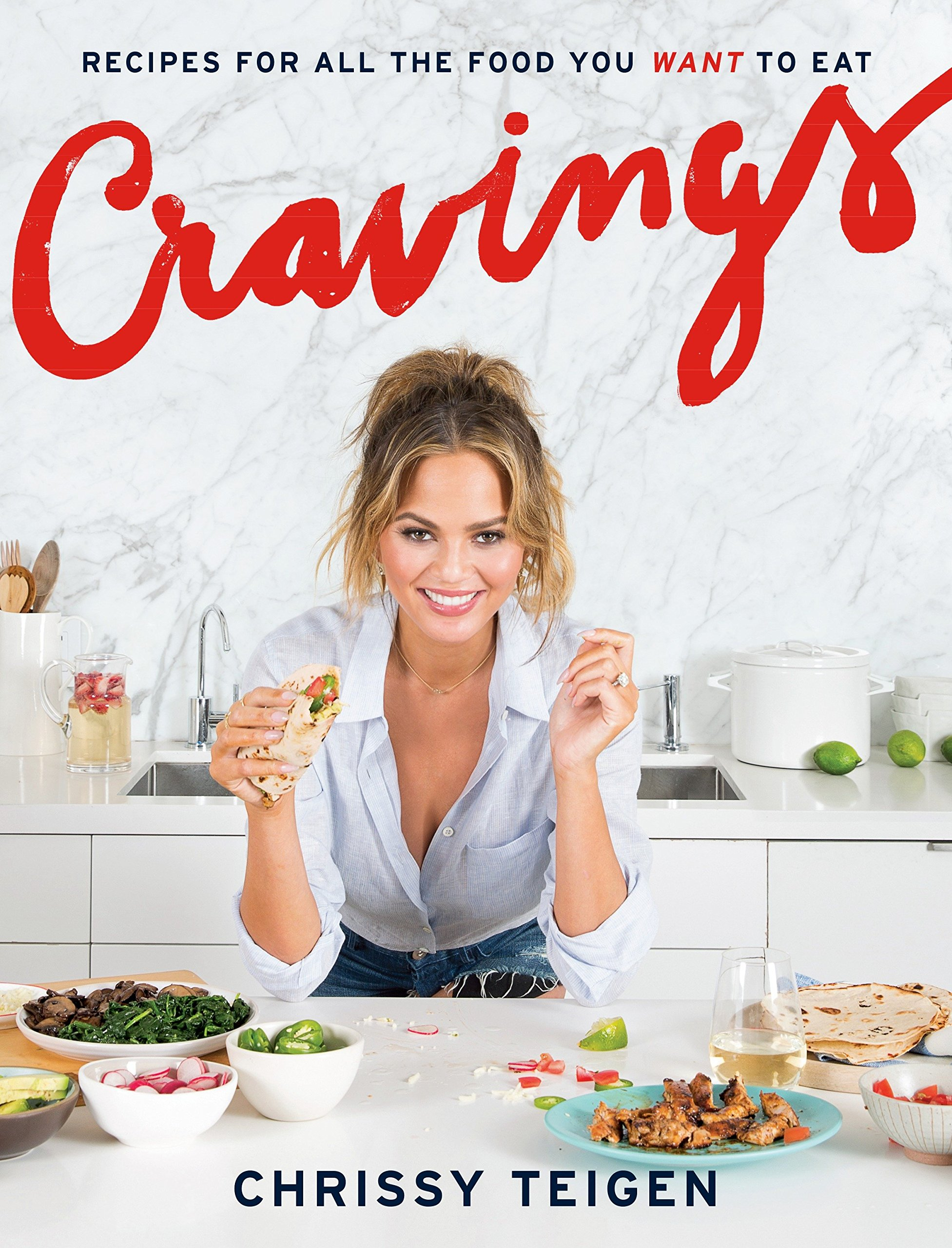 Крисси Тайген «Cravings» 10 кулинарных книг знаменитостей