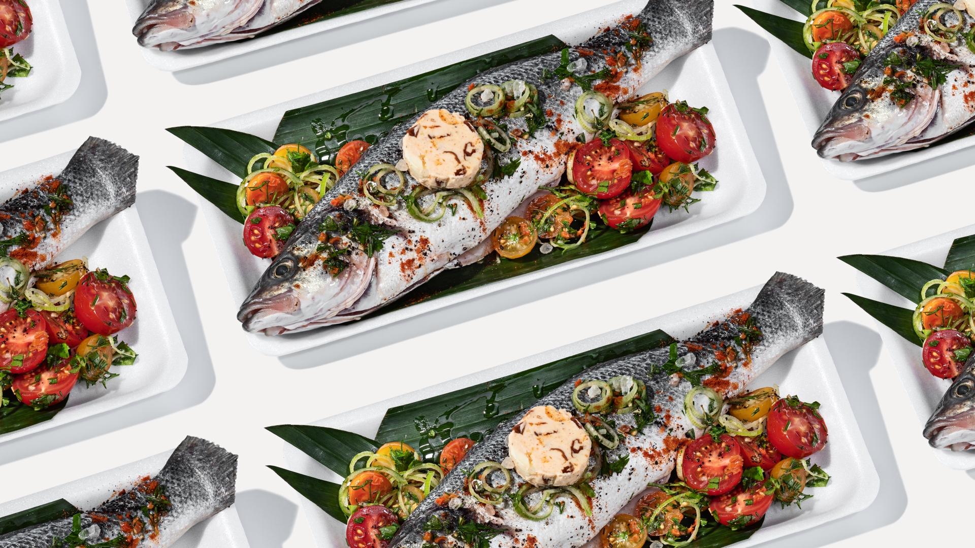 рыба фиш блюда в Украине