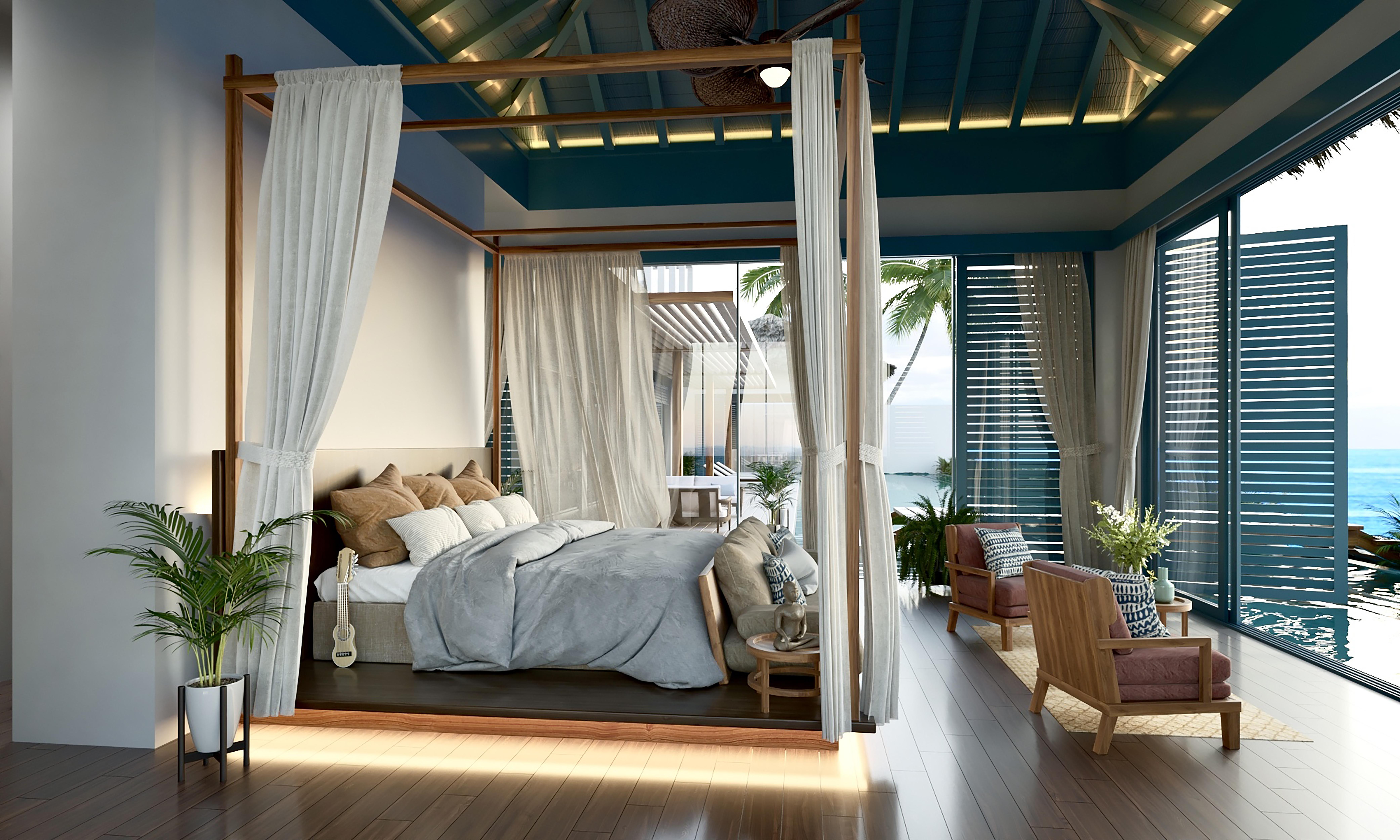 Raffles Maldives Meradhoo курорт за 1 миллион долларов