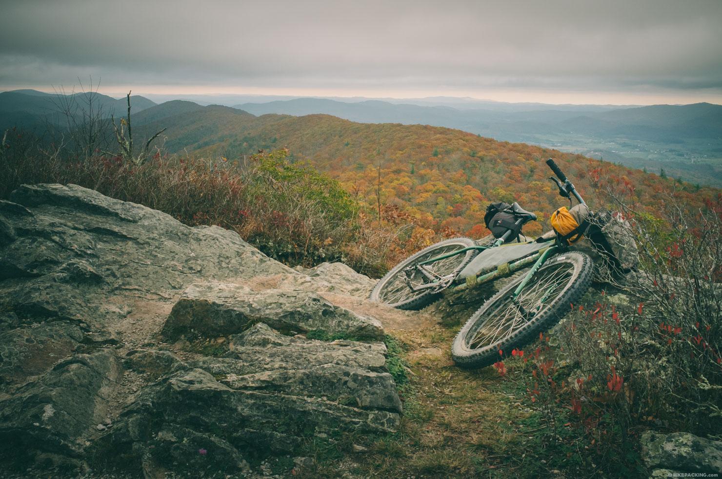 дорога Virginia Mountain Bike Trail лучшие туристические направления